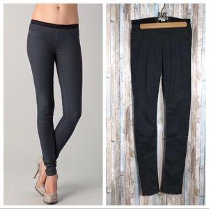 Helmut Lang 27 Gray Pull On Skinny Legging Jeans
